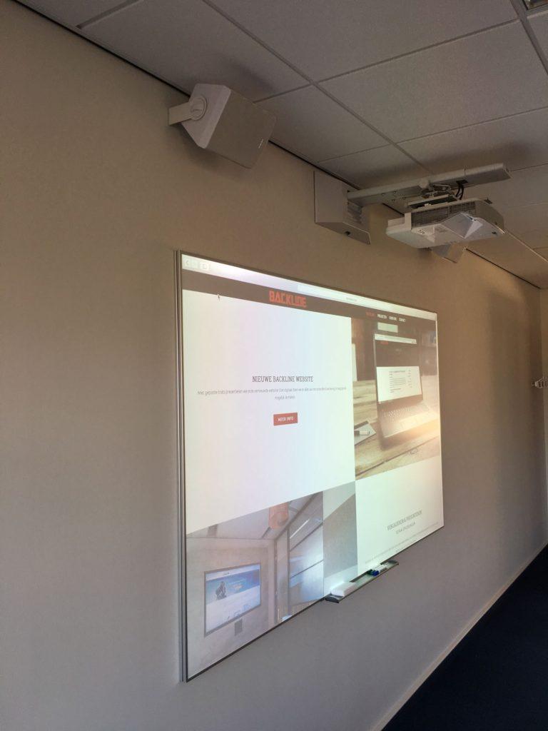 Trainingsruimte voor interactieve scholing
