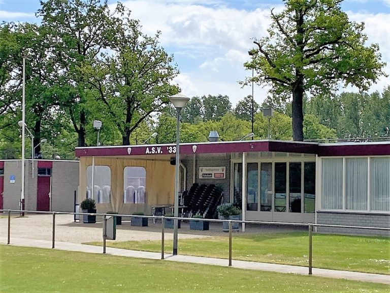 geluidsinstallatie sportveld en kantine